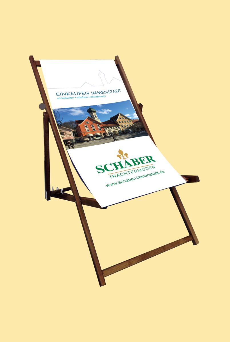 Beispiel Liegestuhl